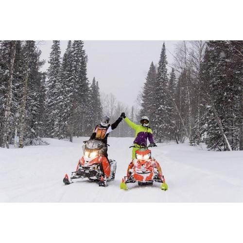 Катание на снегоходе  для 1-2 человек