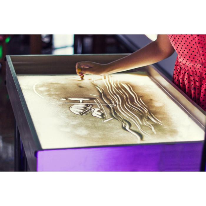 """Мастер-класс """"Рисование песком - Sand Art"""""""