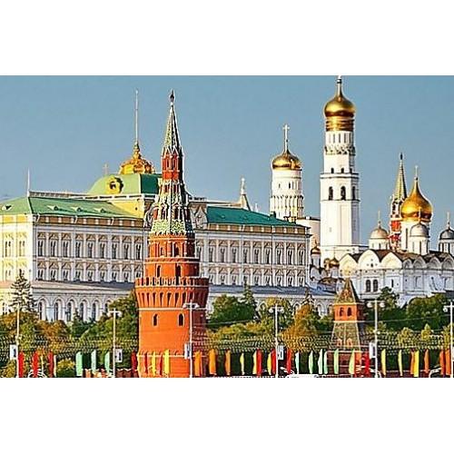 Посещение Соборной площади Кремля