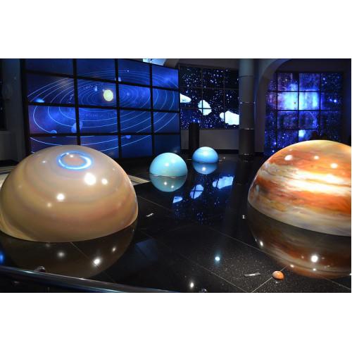 Посещение Планетария в Москве