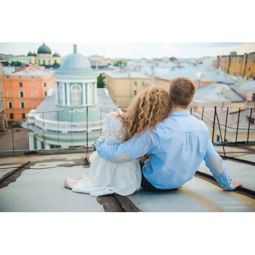 Прогулка по крышам + фотосессия для 1-2 человек
